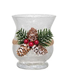 Holiday Pinecone Votive