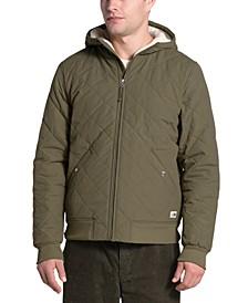 Men's Cuchillo Quilted Fleece-Lined Hooded Jacket