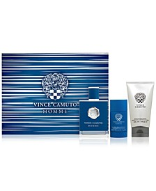 Men's 3-Pc. Homme Eau de Toilette Gift Set