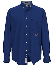 Men's Iconic Re-Issue Regular-Fit Twill Shirt