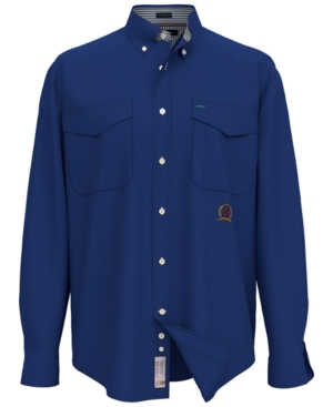 Tommy Hilfiger Men's Iconic Re-Issue Regular-Fit Twill Shirt