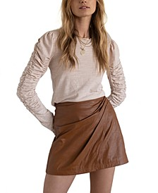 Fake Out Wrap Skirt