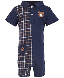 Baby Boys Bear Sunsuit, Created for Macy's