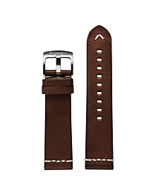 Men's Marino Dark Brown Leather Strap 22mm