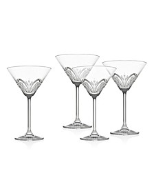 Dublin Martini Glasses, Set of 4