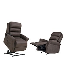 ProLounger Rocker Recliner and Power Lift Recline Chairs, Set of 2