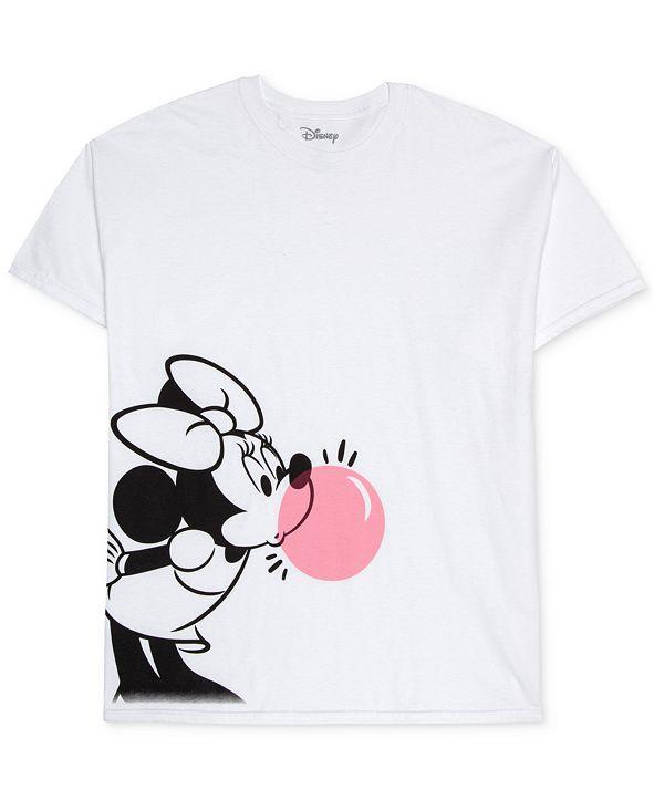 Love Tribe Trendy Plus Size Cotton Bubble Gum Minnie Graphic T-Shirt