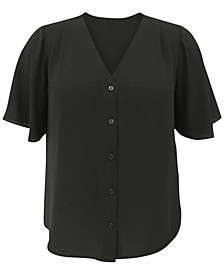 V-Neck Blouse, Created for Macy's