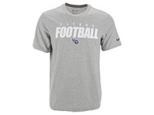 Tennessee Titans Men's Dri-Fit Cotton Football All T-Shirt