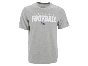 Nike Tennessee Titans Men's Dri-Fit Cotton Football All T-Shirt