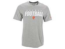 Cleveland Browns Men's Dri-Fit Cotton Football All T-Shirt