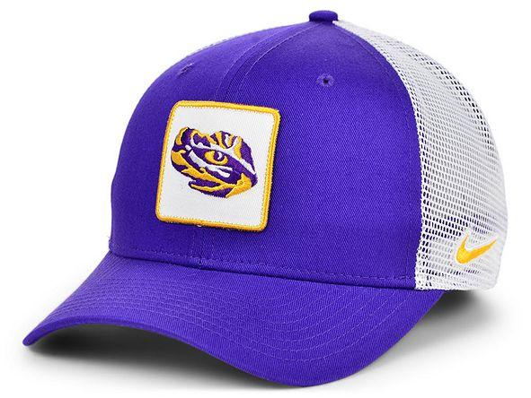 Nike LSU Tigers Patch Trucker Cap