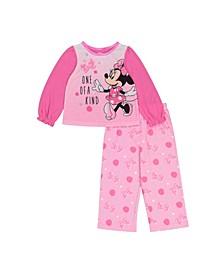 Minnie Mouse Toddler Girls 2-Piece Pajama Set