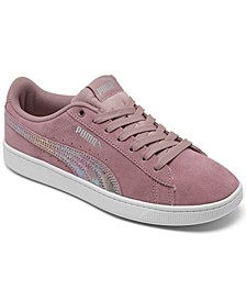 Big Girls Vikky V2 Suede Casual Sneakers from Finish Line