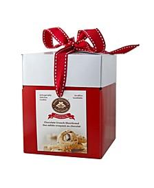 Medium Gift Box of Chocolate Crunch Shortbread, 6 Pack