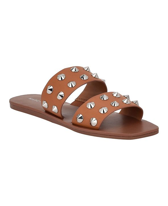 Marc Fisher Bolive Studded Flat Sandals