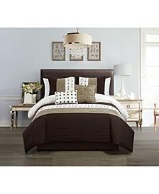 Lainy 5 Piece Queen Comforter Set