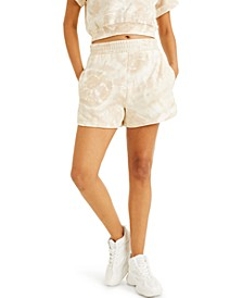 CULPOS X INC High-Waist Tie-Dye Shorts, Created for Macy's