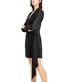 INC Draped-Waist Wrap Dress, Created for Macy's