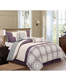 Nanshing Athens 7-Piece California King Comforter Set