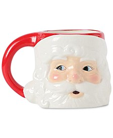 Santa Figural Mug, Created for Macy's