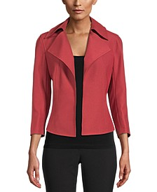 Wide-Collar Jacket