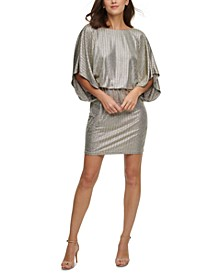 Dolman-Sleeve Sheath Dress