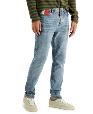 Tommy Hilfiger Denim Men's Sergio Slim Tapered Stretch Jeans