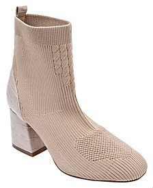 Women's Cherry Stretch Sock Booties