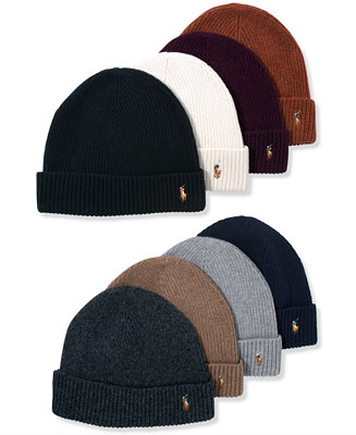 Polo Ralph Lauren Signature Merino Cuffed Beanie Amp Reviews