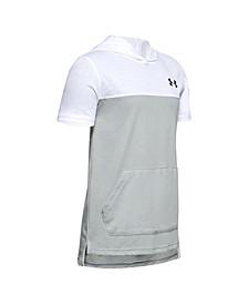Big Boys Sport Style Short Sleeve Hoodie