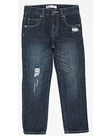 Little Boys Slim Straight New R and R Denim Pant