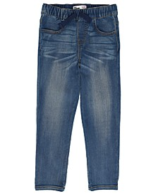 Little Boys Slim Straight Drawstring Waist Baxter Denim Pant