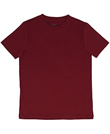 Toddler Boys Solid Basic Knit Tee