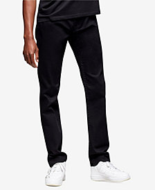 True Religion Men's Rocco Skinny Fit Jeans with Back Flap Pockets