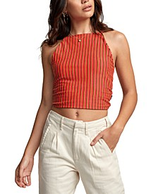 Eliza Striped Crop Top