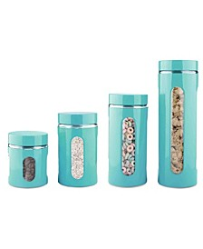 Essence Collection Stainless Steel 4-Pc. Canister Set