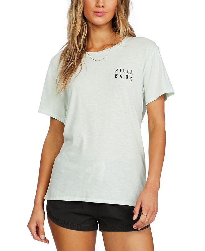 Billabong Juniors' Right Side Cotton Graphic T-Shirt
