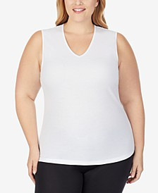 Plus Size Softwear V-Neck Tank Top