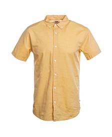 Men's Chambray Short-Sleeve Oxford Shirt