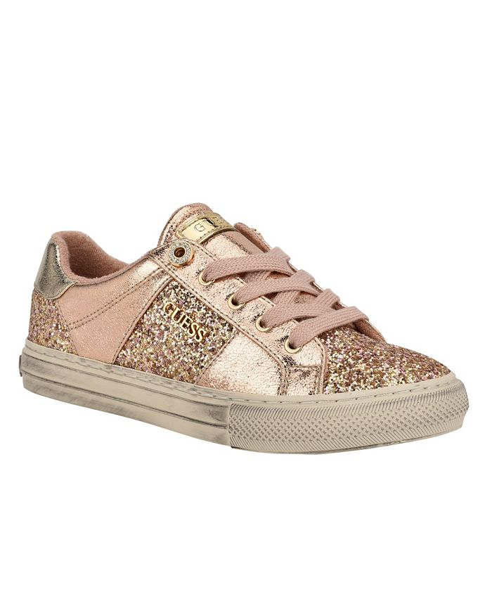 GUESS - Women's Loven Lace-Up Sneakers