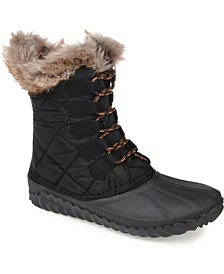Women's Comfort Foam Powder Winter Boot