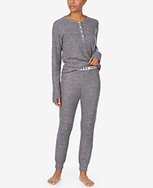 Henley Top & Jogger Pants Loungewear Set