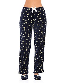 Women's Pajama Pant & Slipper 2pc Set