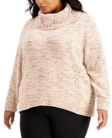 Plus Size Cowlneck Sweater