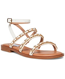Women's Tesla Chain-Trim Sandals