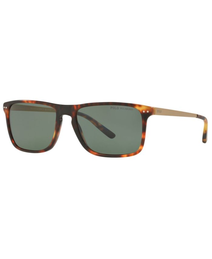 Polo Ralph Lauren Men's Polarized Sunglasses, PH4119 56 & Reviews - Sunglasses by Sunglass Hut - Men - Macy's