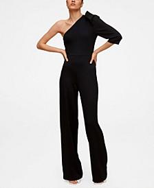 Women's Asymmetric Long Jumpsuit