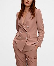 Women's Double Buttoned Modal Blazer