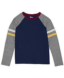 Big Boys Long Sleeve Crew Neck New Brett Tee